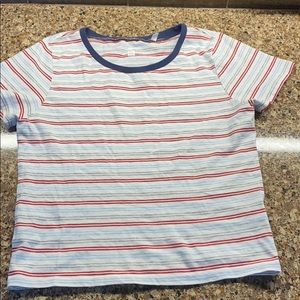 Stripped pacsun top